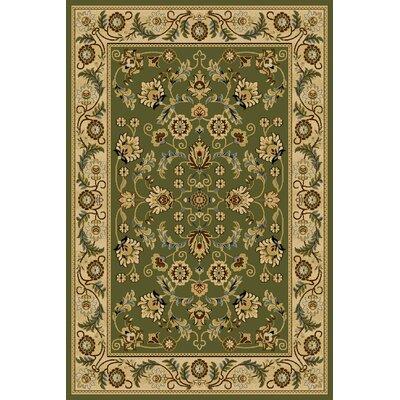Cicily  Green Area Rug Rug Size: 710 x 910