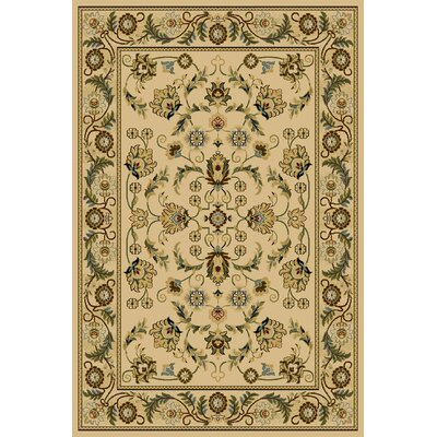 Clodia  Ivory Area Rug Rug Size: Rectangle 710 x 910
