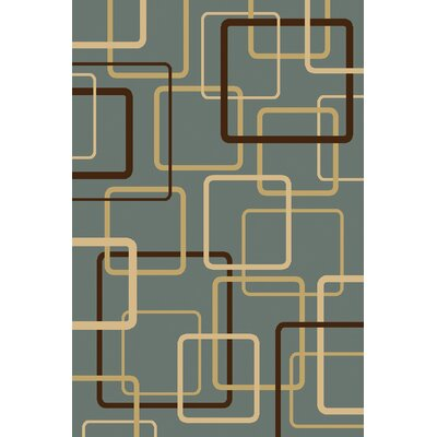 Carman  Blue Area Rug Rug Size: Rectangle 5 x 76