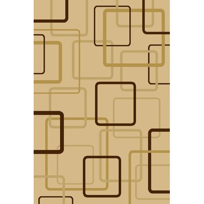 Clodo  Ivory Area Rug Rug Size: Rectangle 910 x 1210
