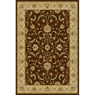 Catreena  Brown Area Rug Rug Size: 33 x 53