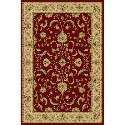 Daran  Red Area Rug Rug Size: 910 x 1210