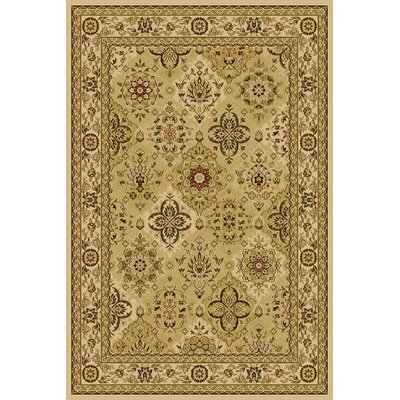 Cloe  Ivory Area Rug Rug Size: Rectangle 5 x 76