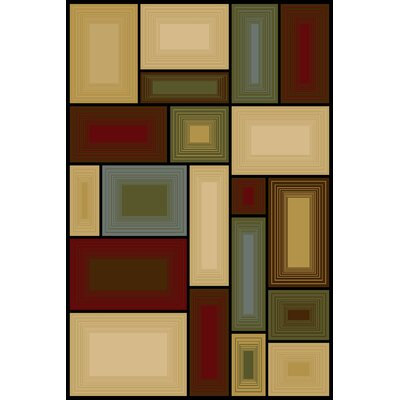 Bintah  Area Rug Rug Size: Rectangle 33 x 53