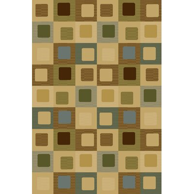 Bronny  Beige Area Rug Rug Size: Rectangle 710 x 910
