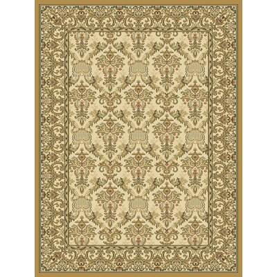 Ivy Wheat Area Rug Rug Size: 710 x 1010