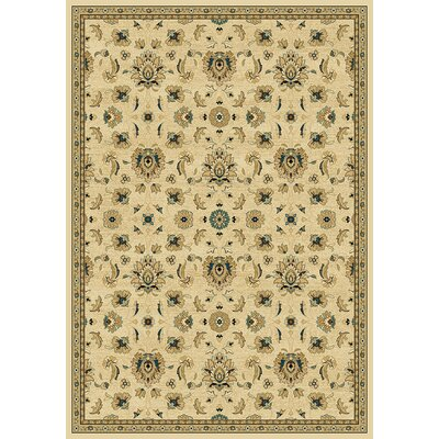 Derwen  Wheat Area Rug Rug Size: Rectangle 710 x 1010