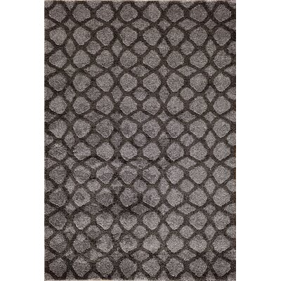 Chiyoh  Gray Area Rug Rug Size: Rectangle 710 x 910