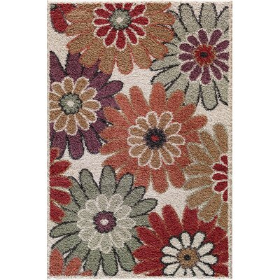 Cybil  Pearl Area Rug Rug Size: Rectangle 710 x 910