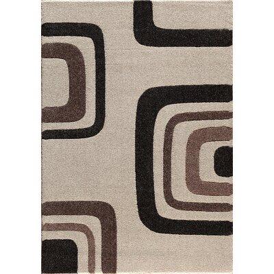 Custodia Pearl/Silver Area Rug Rug Size: 710 x 910