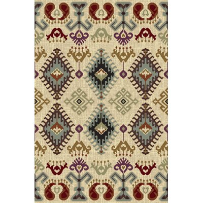 Blesing  Area Rug Rug Size: 710 x 910