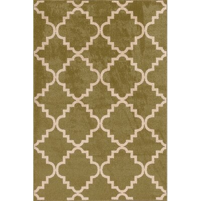 Cienna  Green Area Rug Rug Size: Rectangle 67 x 96