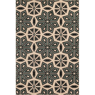 Ciera  Green Area Rug Rug Size: Rectangle 5 x 73