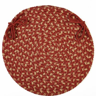 Chaneel Chair Pad Color: Warm Earth