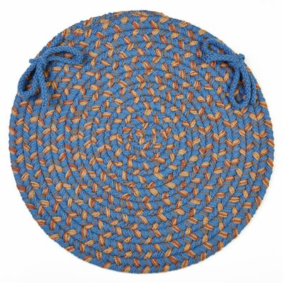 Chaneel Chair Pad Color: Blue Lake