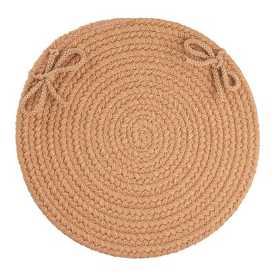 Sophisticated Chair Pad Color: Camel