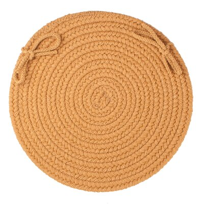 Sophisticated Chair Pad Color: New Gold