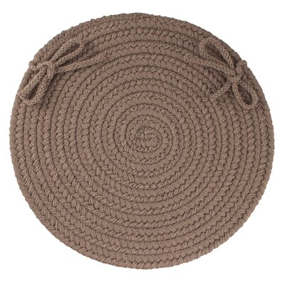 Sophisticated Chair Pad Color: Dark Taupe