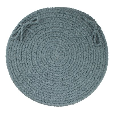 Sophisticated Chair Pad Color: Ocean Blue