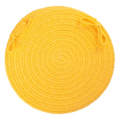 Sophisticated Chair Pad Color: Daffodil
