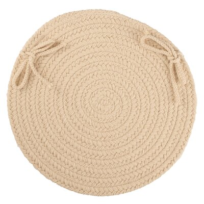 Sophisticated Chair Pad Color: Cream