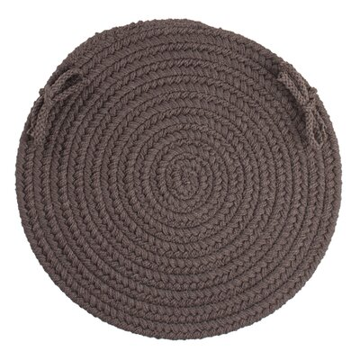 Sophisticated Chair Pad Color: Brown Velvet