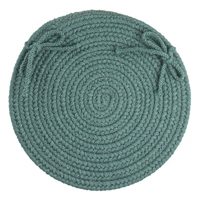 Sophisticated Chair Pad Color: Teal