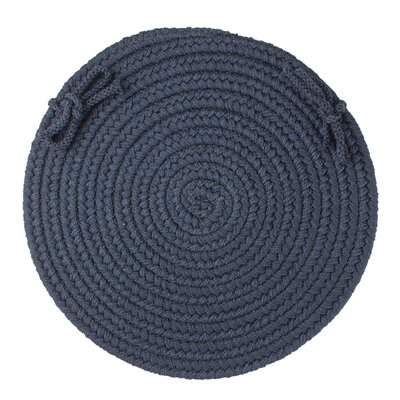 Sophisticated Chair Pad Color: Navy