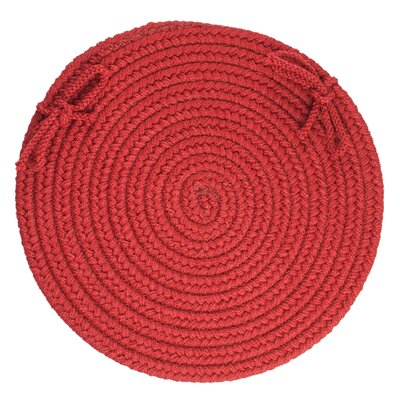 Sophisticated Chair Pad Color: Brilliant Red