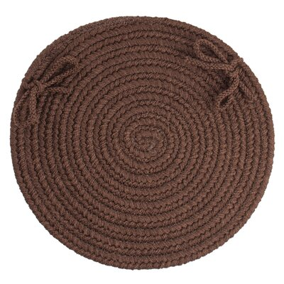 Sophisticated Chair Pad Color: Brown