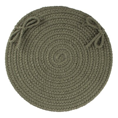 Sophisticated Chair Pad Color: Dark Sage