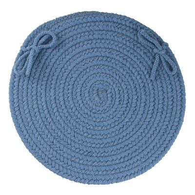 Sophisticated Chair Pad Color: Marina Blue