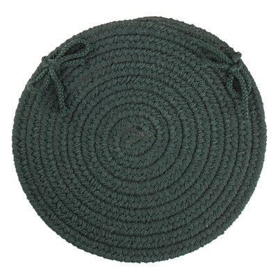 Sophisticated Chair Pad Color: Spruce Green
