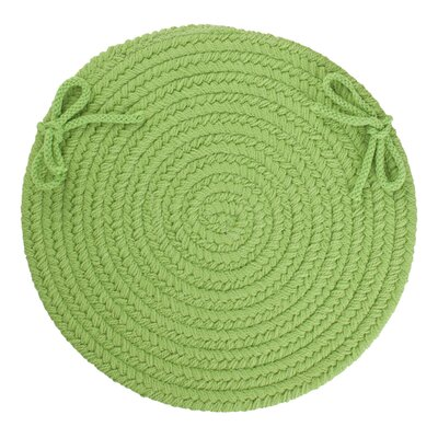 Sophisticated Chair Pad Color: Key Lime