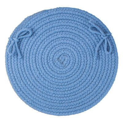Sophisticated Chair Pad Color: French Blue