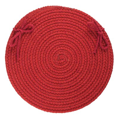 Chanel  Chair Pad Color: Scarlet