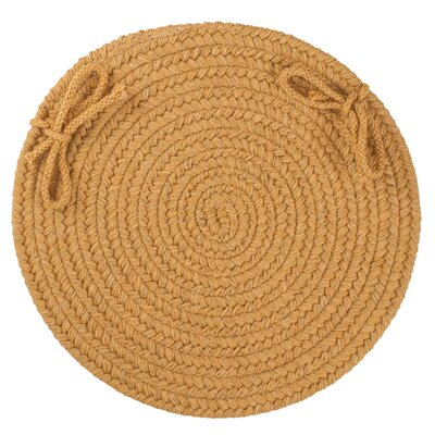 Chanel  Chair Pad Color: Vintage Gold