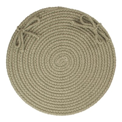 Chanel  Chair Pad Color: Moss Green