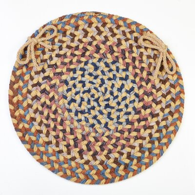 Chanell  Chair Pad Color: Wheat Field