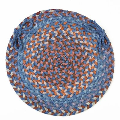 Chanell  Chair Pad Color: Blue Dragon
