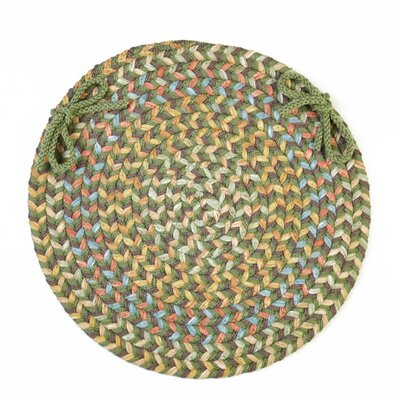 Chanelle  Chair Pad Color: Olive