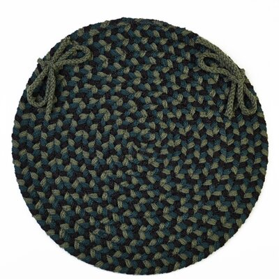 Chanha  Chair Pad Color: Verdant