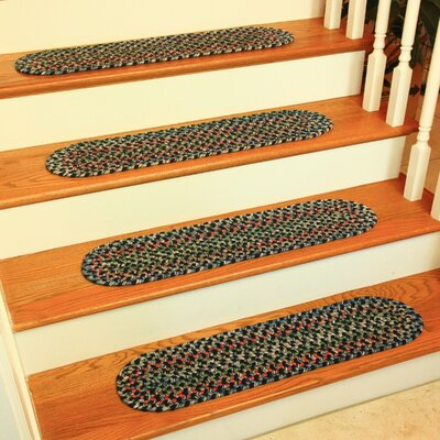 Cressa Navy Indoor/Outdoor Stair Tread