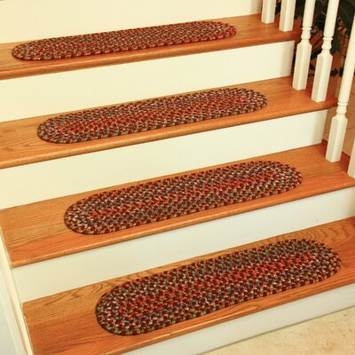 Chanai  Burgundy Stair Tread
