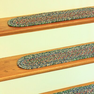 Cheron Denim/Blue Indoor/Outdoor Stair Tread