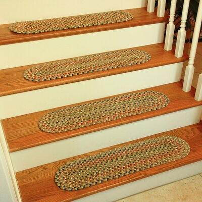 Brown Stair Tread