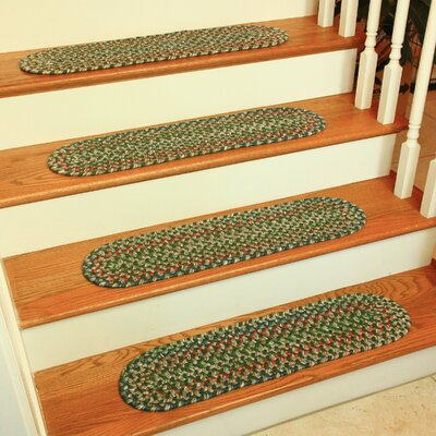 Dayana Sage Indoor/Outdoor Stair Tread