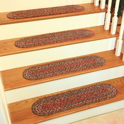 Chandal Burgundy/Red Indoor/Outdoor Stair Tread