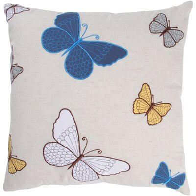 Belladonna  Decorative Cotton Throw Pillow