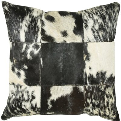 Throw Pillow Color: Black / White